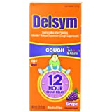 Delsym Extended Release Suspension Children's Grape-Flavored, 5-Ounces Box