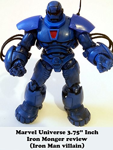 "Marvel Universe 3.75"" Inch Iron Monger Build A Figure Review BAF (Iron Man villain)"