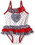 Little Me Baby Girls One Piece Stars Ruffle Swimsuit, Multi, 24 Months