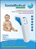 Professional Clinical Large LCD Non-contact Infrared Thermometer - Forehead (Fahrenheit Readings)