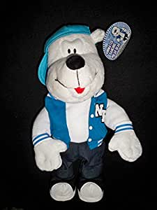 Animated dancing polar bear sings ice ice baby for Animated polar bear christmas decoration