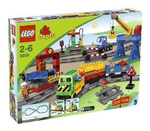 LEGO Duplo Legoville Deluxe Train Set (5609) (Lego Motorized Train compare prices)