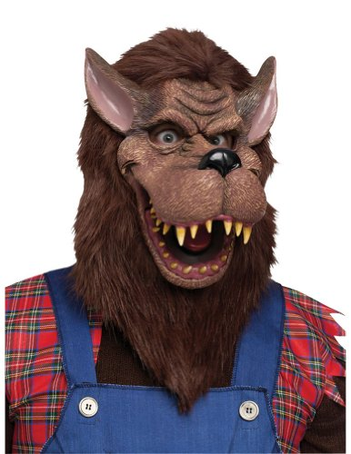 Big Bad Wolf Mask Halloween Costume - Most Adults