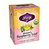 Yogi Teas Herbal Tea Bags, Raspberry Leaf, 16 Count