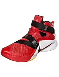 Nike Lebron Soldier Ix Mens Basketball Shoes Red New In Box