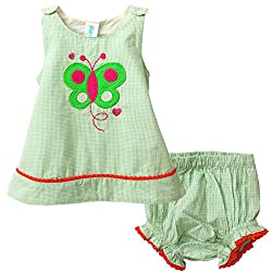 Snuggles Baby Snuggles Top With Bloomer (Bp10037285 -Green -18 To 24 Months)