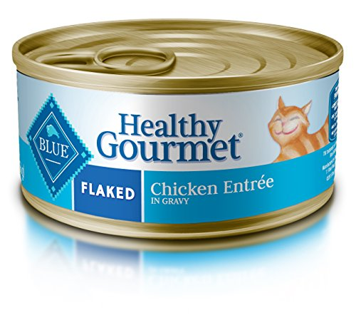 BLUE Buffalo Healthy Gourmet Flaked Chicken Entrée For Adult Cats