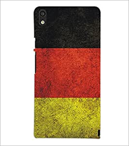 PrintDhaba Pattern D-5173 Back Case Cover for HUAWEI ASCEND P6 (Multi-Coloured)