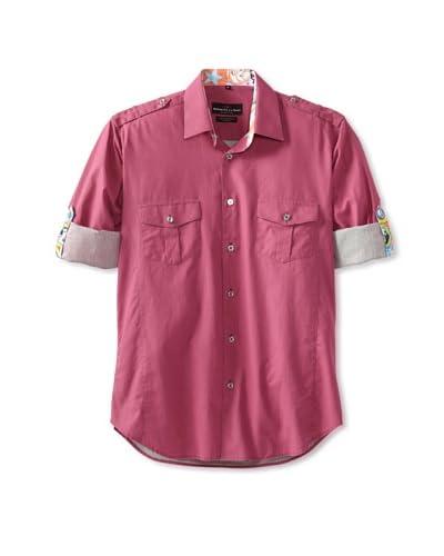 Jared Lang Men's Nelson De La Nuez Shirt  [Pink]