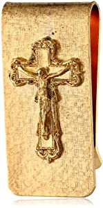 The Vatican Library Collection Gold-Tone Crucifix Money Clip