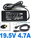 AC Power Adapter Charger For Sony Vaio Laptop Notebook Computers 19.5V 4.7A