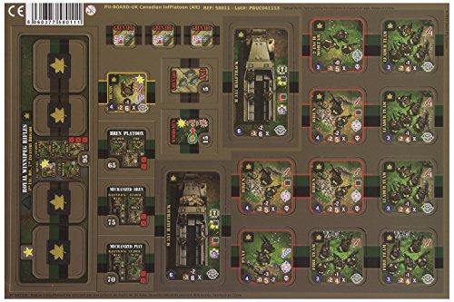 Heroes of Normandie - UK Canadian Infantry Platoon Board Game