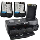 Brand new HLD-4 BATTERY GRIP AND 2X BLM-1 BLM1 2000mah FOR OLYMPUS E-3/E-5/E-30/ camera HLD4
