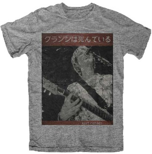 Sale alerts for Toy Zany Nirvana Kurt Cobain Guitar Kurt Heather Grey T-Shirt | M - Covvet
