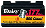Daisy Outdoor Products .177 Cal. Flathead Pellets (500) (Silver Color, 4.5 mm)