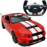 Smart Picks Officially Licensed Electric 1:14 Scale Full Function Ford Shelby GT500 Remote Control Car (Red)