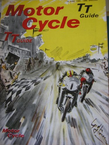 Motor Cycle Magazine 1965 Isle Of Man Tt Guide Golden Age