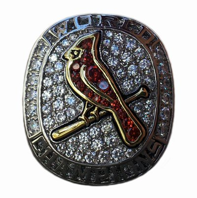 2011 St. Louis Cardinals World Series Championship Ring at Amazon.com