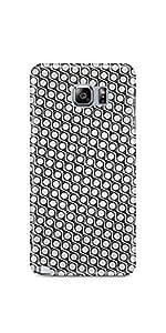 Eye Pattern B&W Samsung Galaxy Note 5 Matte Case