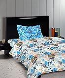 Bombay Dyeing Coral Vine - 100% Cotton - Single Bedsheet DSN-07 - Bedsheet(152c...