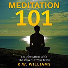 Meditation 101: Beat the Stress with the Power of Your Mind Audiobook by K.W. Williams Narrated by Jim D Johnston