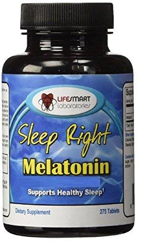Sleep Right Melatonin 5 mg, 275 pills, Timed Release