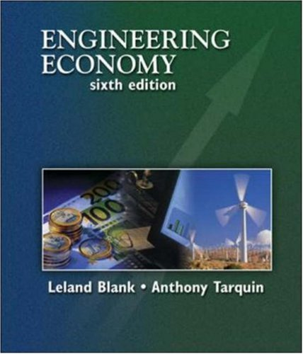Engineering Economy (McGraw-Hill Series in Industrial Engineering and