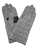 Echo Design Women's Milk Quilted Touch Glove, Small/Medium, Grey