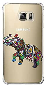WOW Transparent Printed Back Cover Case For Samsung Galaxy S6 Edge Plus