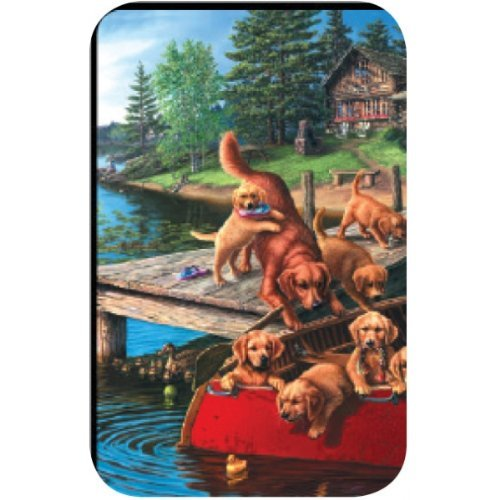 Bridge Score Pad - Dog Paddle - 50pages - 3.5 x 5.5 - Pack of 3