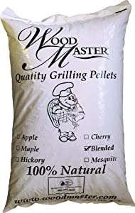 WoodMaster Blended Wood Pellets (20 Pound Bag)