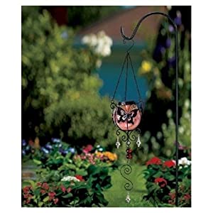 Butterfly solar hanging garden decor patio for Butterfly lawn decorations
