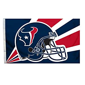 NFL Houston Texans 3-by-5 Foot Helmet Flag by Fremont Die