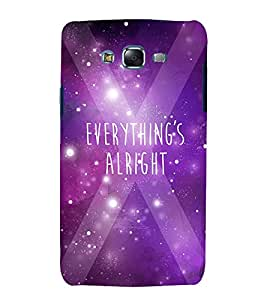 GADGET LOOKS PRINTED BACK COVER FOR SAMSUNG GALAXY A7 MULTICOLOR