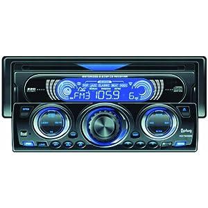 dual xd7500n single din am fm cd receiver with motorized. Black Bedroom Furniture Sets. Home Design Ideas