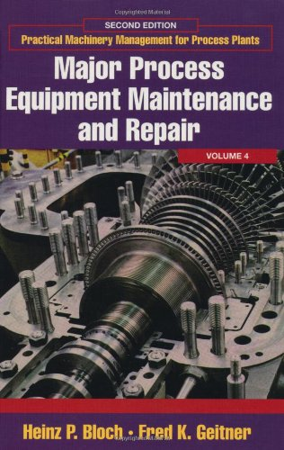 Practical Machinery Management for Process Plants Volume 4 Second Edition Major Process Equipment Maintenance088415758X : image