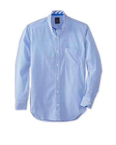 TailorByrd Men's Old Long Sleeve Checked Modern Sportshirt
