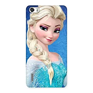 Cute Wink Freez Princess Back Case Cover for Honor 6