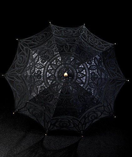 The 1 for Vintage Batternburg Lace Parasol 8 Colors 2