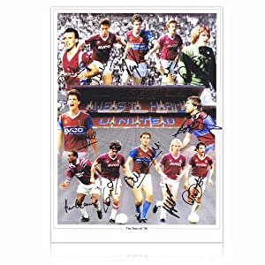 West Ham Boys Of 86 Signed By 12 Photo by exclusivememorabilia.com