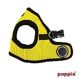 犬用 ハーネス 胴輪 ソフトベストハーネス:XS S M Lサイズ PUPPIA パピア ペット 犬 paha-ah305 犬用 ドッグ S イエロー