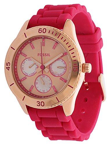 Fossil ES3535 - Reloj para mujeres color rosa