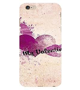 PrintVisa Be My Valentine Design 3D Hard Polycarbonate Designer Back Case Cover for Apple iPhone 6 Plus
