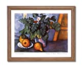 Paul Cezanne French Flowers Pears Fruit Contemporary Home Decor Wall Picture Oak Framed Art Print