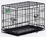 Midwest 1524DD 24-By-18-By-19-Inch iCrate Double-Door Pet Crate by Midwest Homes for Pets