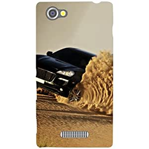Sony Xperia M Back Cover - Desert Designer Cases
