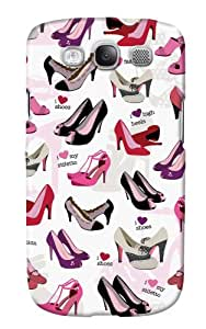 DailyObjects Shoes Case For Samsung Galaxy S3 I9300 (Back Cover)