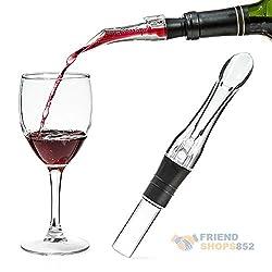 Aerator Pour Spout Bottle Stopper Decanter Pourer Aerating White Red Wine Aerato