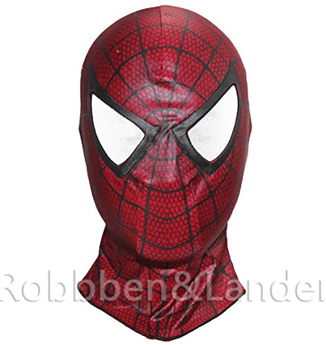 [4 Style The Amazing Spider Man Balaclava Hood Cosplay Halloween Full Face Mask (S2)] (Baby Corn Bunting Costumes)