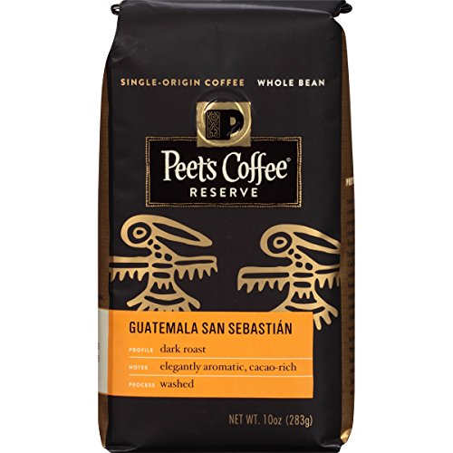Peet's Coffee & Tea Whole Bean, Guatemala San Sebastian, 10 Ounce (Whole Bean Guatemala Coffee compare prices)